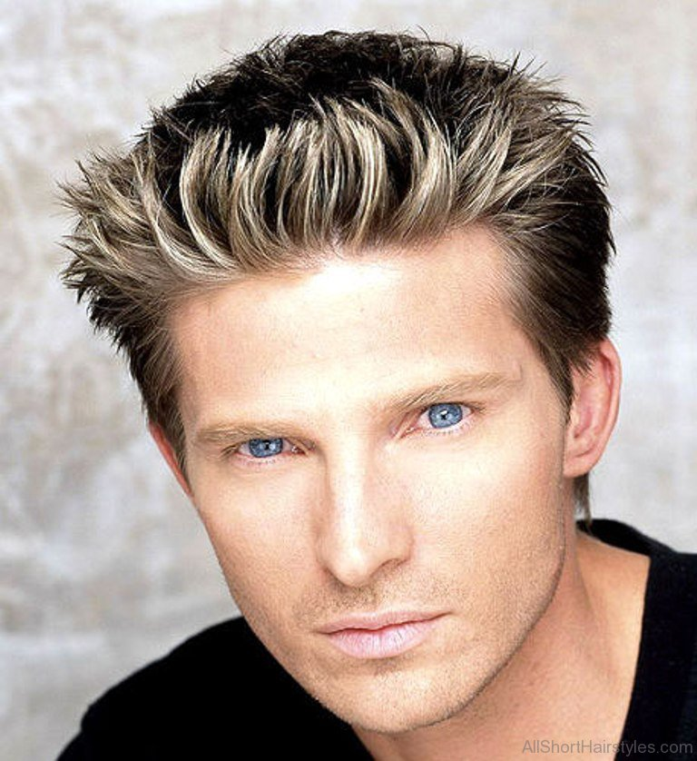 spiky haircut for boy boys spiky haircuts haircuts models ideas 4209 | Blonde Spiky Hairstyle For Boyd