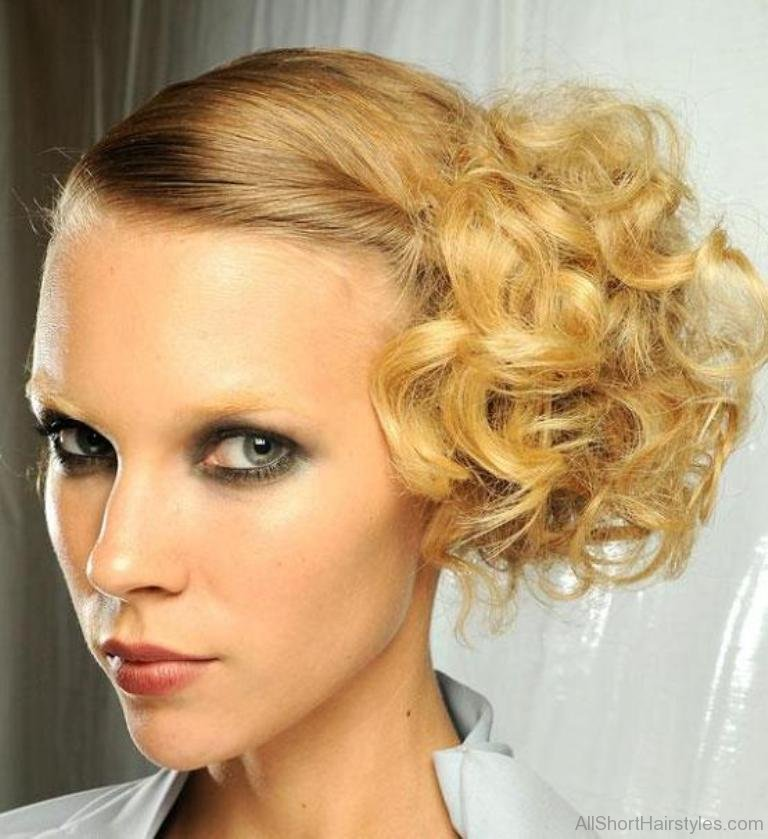 Updos For Short Curly Hair Prom Anexa Beauty